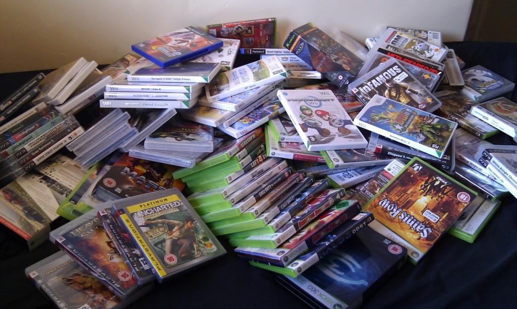 Pile of Shame Video Games
