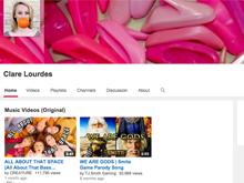 ClareLourdes YouTube Channel