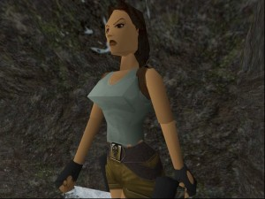Tomb Raider Polygon Boobs